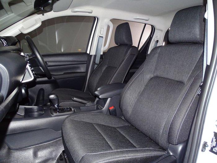 2021 Toyota Hilux SR GUN126R 4X4 Dual Range Glacier White