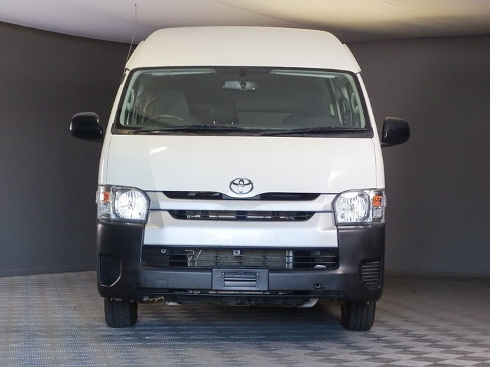 2018 Toyota Hiace Commuter KDH223R French Vanilla