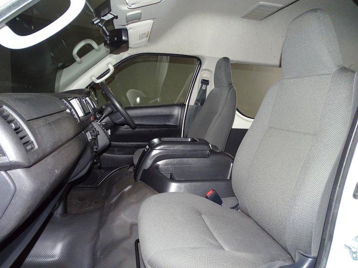 2018 Toyota Hiace Commuter KDH223R French Vanilla