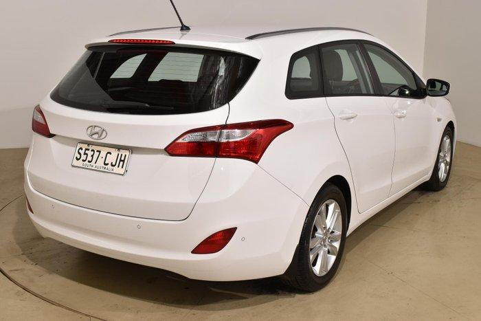 2013 Hyundai i30 Active GD Creamy White
