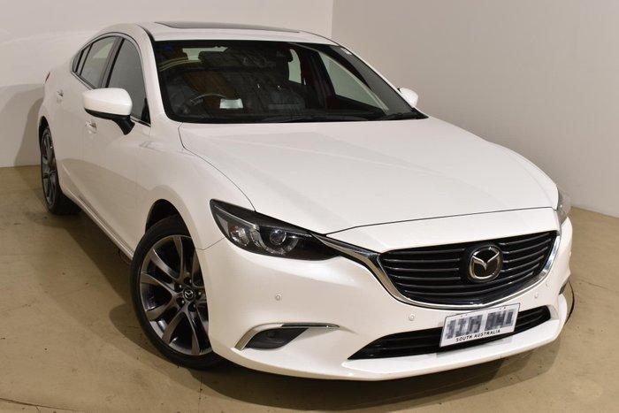 2017 Mazda 6 Atenza GL Series Snowflake White Pearl