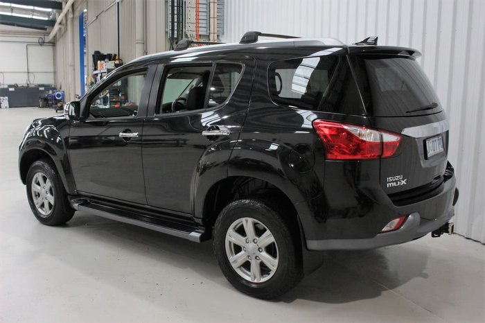 2014 Isuzu MU-X LS-T MY14 4X4 Dual Range Black