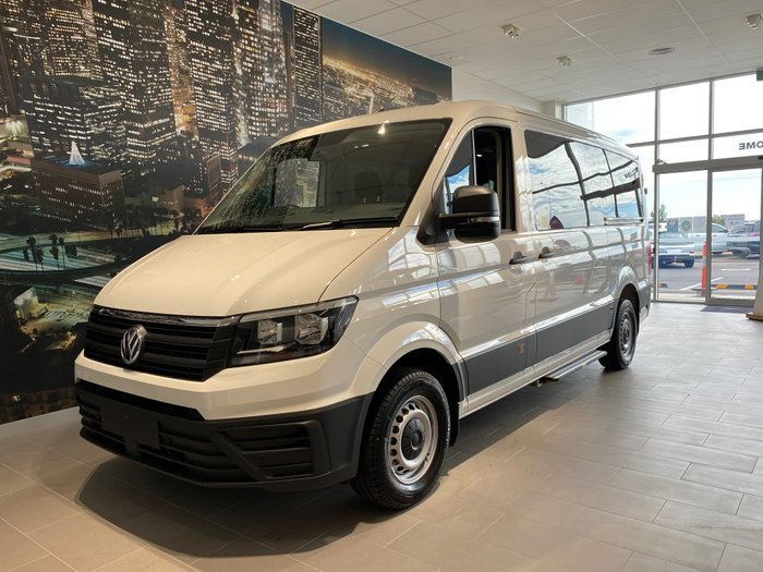 2019 Volkswagen Crafter Minibus TDI410 SY1 MY20 Candy White