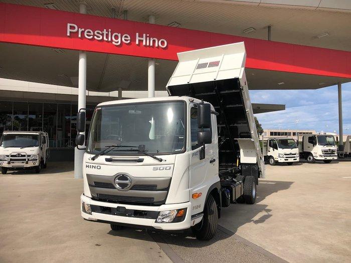 2021 HINO FC 1124 White