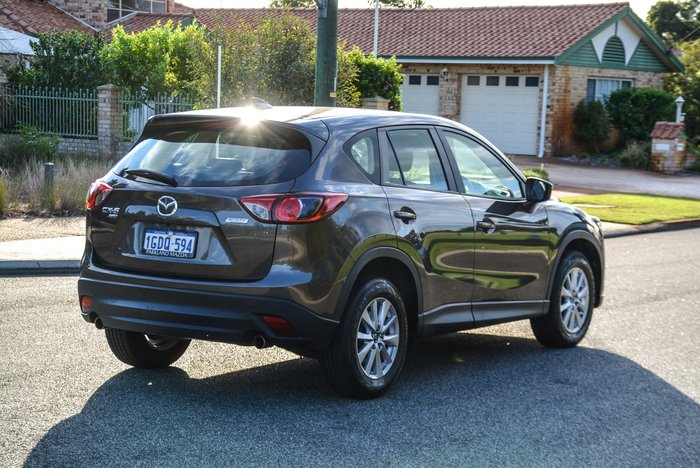 2016 Mazda CX-5 Maxx Sport KE Series 2 AWD Titanium Flash