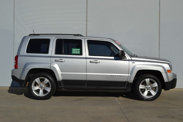 2012 Jeep Patriot Sport MK MY12 SILVER