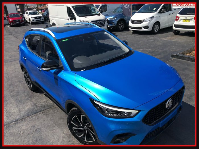 2020 MG ZST Essence MY21 Brighton Blue