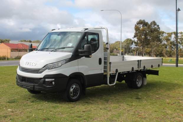 2021 Iveco DAILY 45C17 DAILY TRADIE MADE PACK White