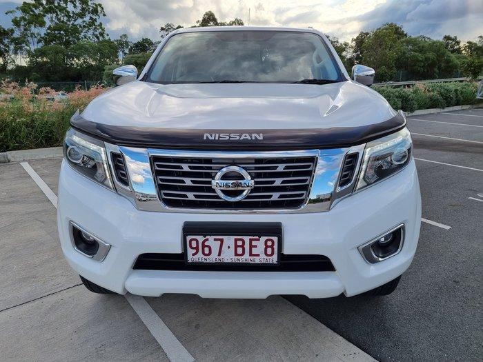 2019 Nissan Navara ST D23 Series 4 4X4 Dual Range Polar White