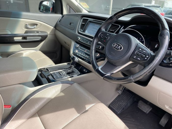 2015 Kia Carnival Platinum YP MY15 Clear White