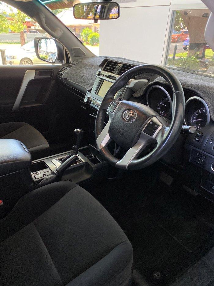 2016 Toyota Landcruiser Prado GXL GDJ150R 4X4 Dual Range Glacier White
