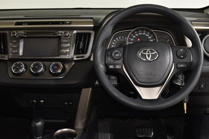 2015 Toyota RAV4 GX ASA44R AWD Silver Pearl