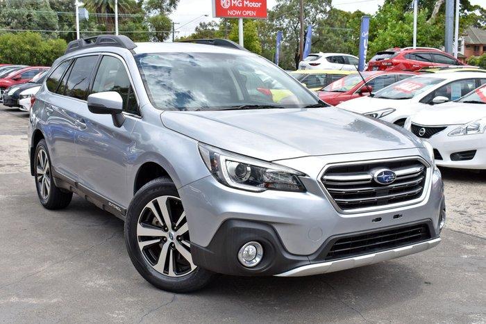 2018 Subaru Outback 2.5i 5GEN MY18 AWD Ice Silver