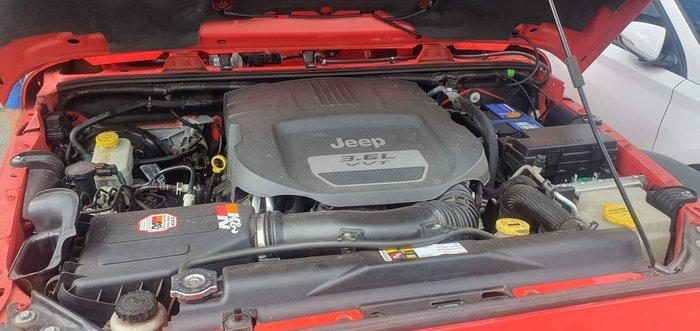 2013 Jeep Wrangler Unlimited Sport JK MY13 4X4 Red