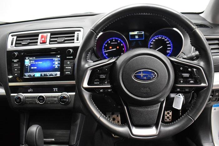 2018 Subaru Liberty 2.5i 6GEN MY18 AWD Crystal White