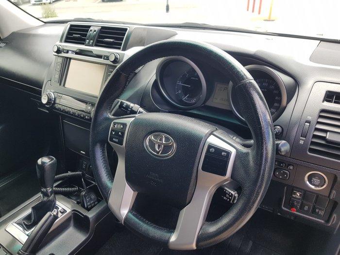 2013 Toyota Landcruiser Prado GXL KDJ150R 4X4 Constant Dynamic Blue