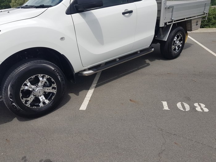 2019 Mazda BT-50 XT Hi-Rider UR Cool White