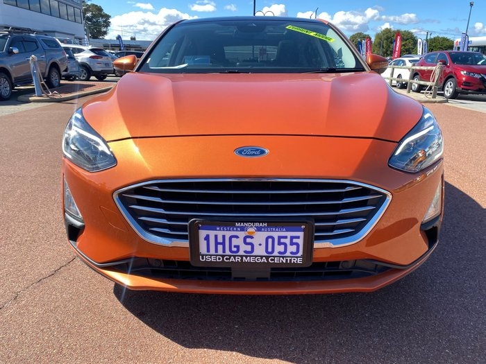 2019 Ford Focus Titanium SA MY19.75 Orange Glow