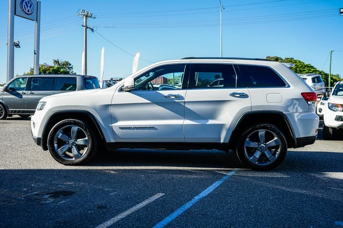 2013 Jeep Grand Cherokee Limited WK MY14 4X4 Constant Bright White