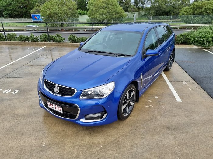 2017 Holden Commodore SV6 VF Series II MY17 Blue