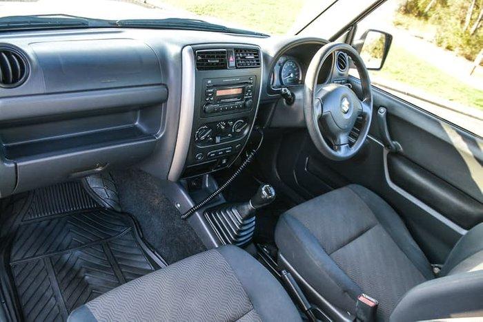 2013 Suzuki Jimny Sierra SN413 T6 MY13 4X4 Dual Range Silky Silver