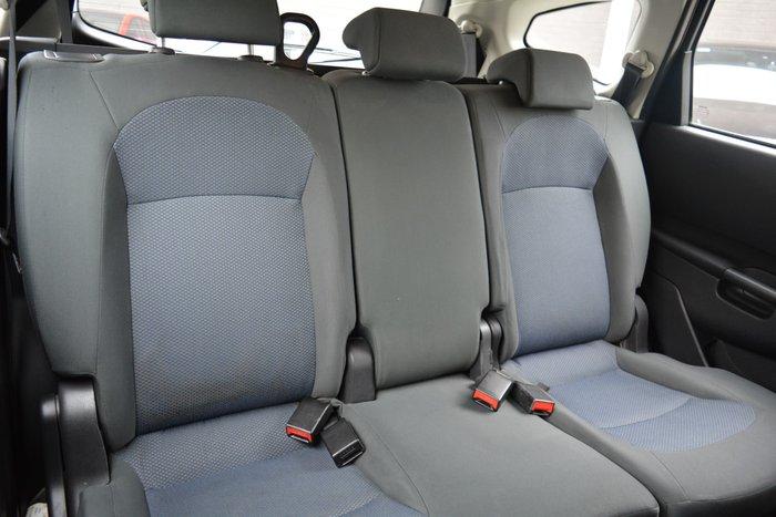 2012 Nissan Dualis +2 ST J10 Series 3 MY12 Pearl Black