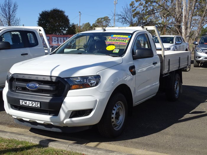 2017 Ford Ranger XL PX MkII MY18 Cool White