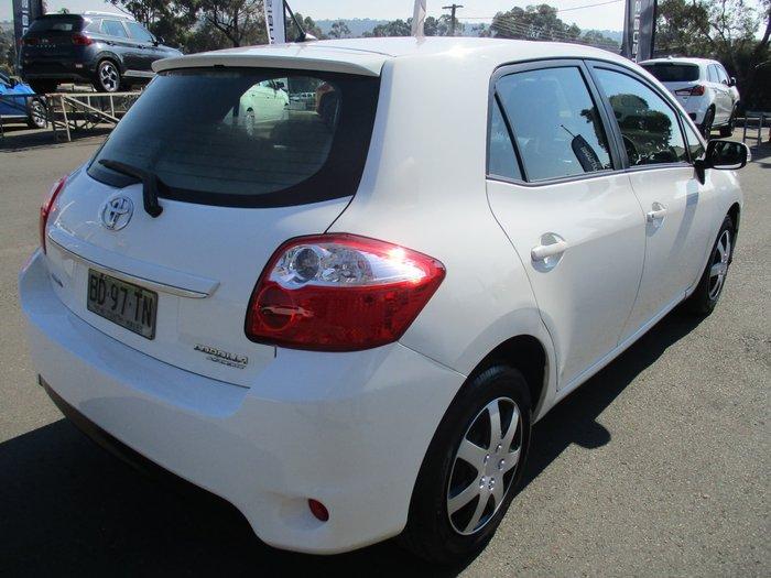 2010 Toyota Corolla Ascent ZRE152R MY10 Glacier White