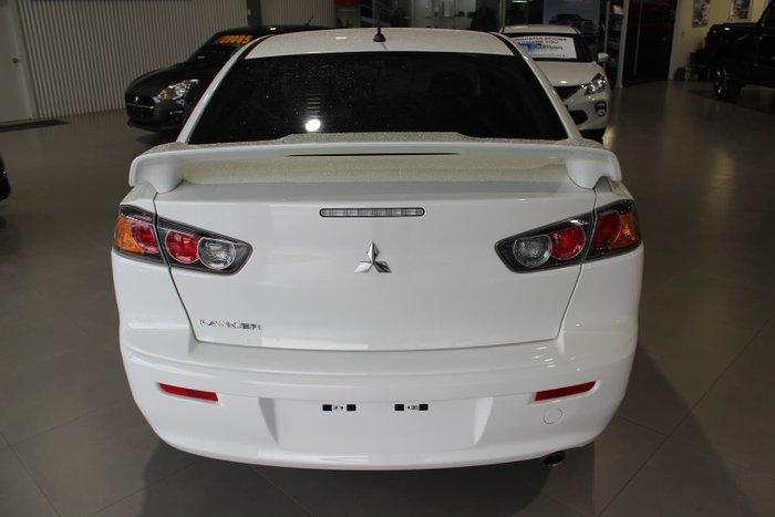 2013 Mitsubishi Lancer ES CJ MY13 White