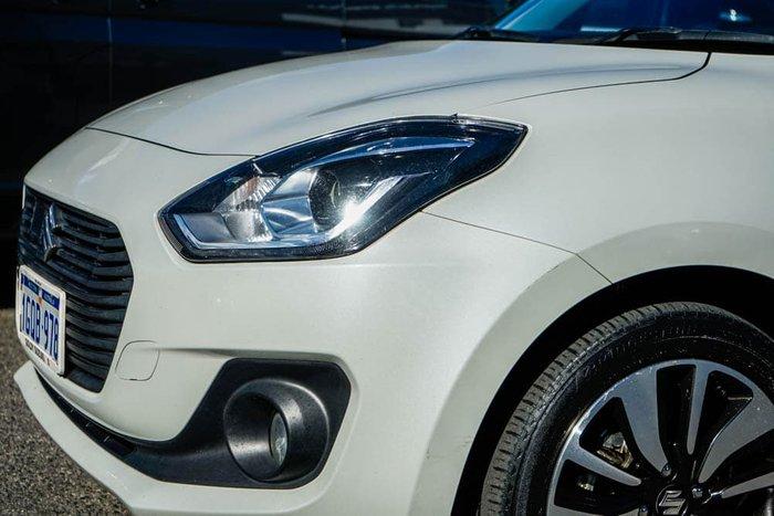 2018 Suzuki Swift GLX Turbo AZ Pure White