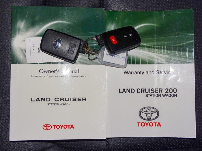 2017 Toyota Landcruiser VX VDJ200R 4X4 Dual Range Eclipse Black