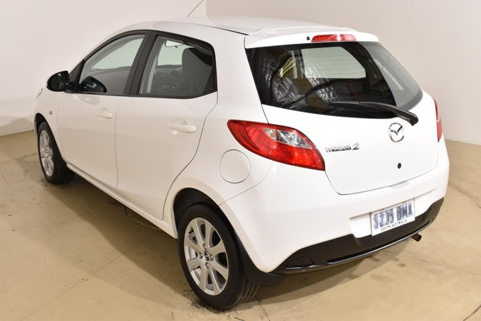 2014 Mazda 2 Neo Sport DE Series 2 MY14 Crystal White Pearl