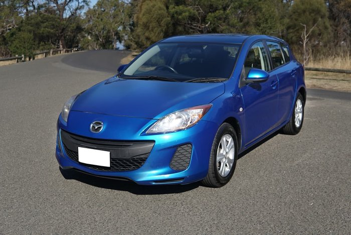 2013 Mazda 3 Neo BL Series 2 MY13 White