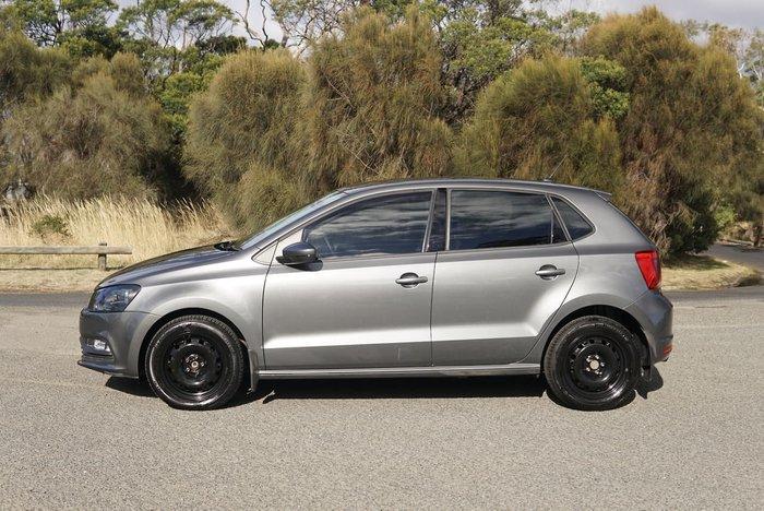 2015 Volkswagen Polo 66TSI Trendline 6R MY15 Grey