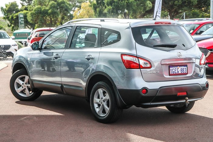 2012 Nissan Dualis ST J10 Series 3 MY12 Grey