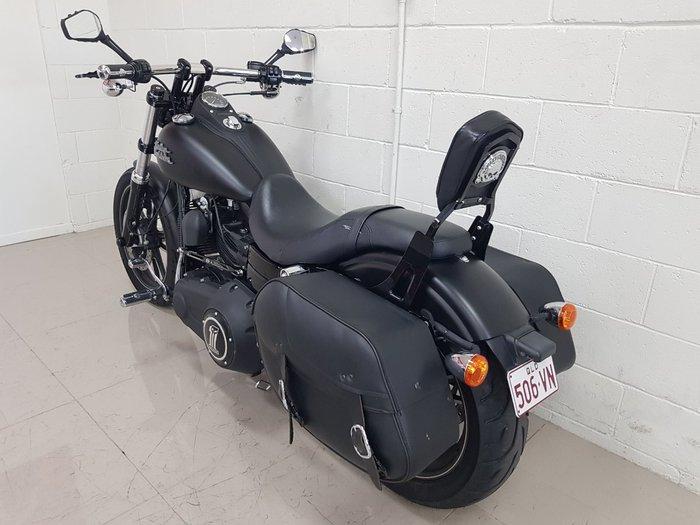 2009 Harley-davidson FXDB STREET BOB Black