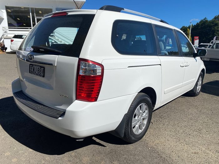 2011 Kia Grand Carnival Si VQ MY12 White