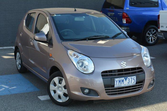 2011 Suzuki Alto GL GF Desert Brown