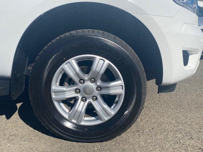 2019 Ford Ranger XLT PX MkIII MY19 4X4 Dual Range Cool White