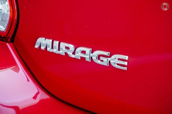 2021 Mitsubishi Mirage ES LB MY21 Red Planet