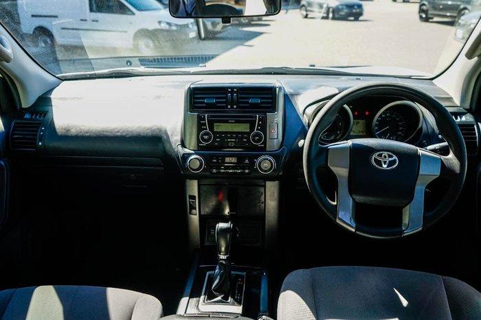 2011 Toyota Landcruiser Prado GX KDJ150R MY12 4X4 Constant Glacier White