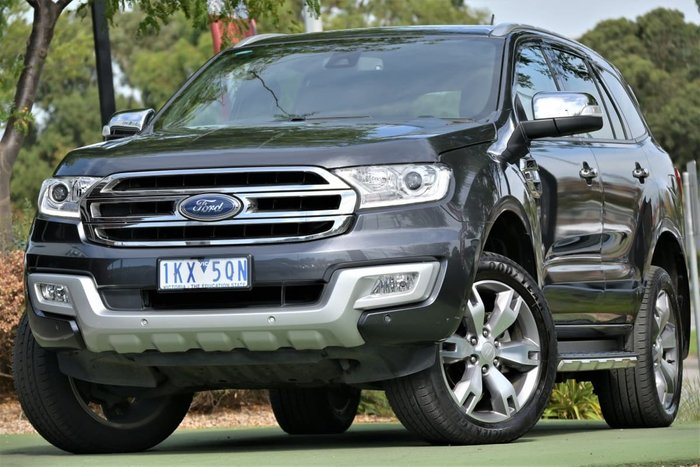 2017 Ford Everest Titanium UA 4X4 Dual Range Meteor Grey