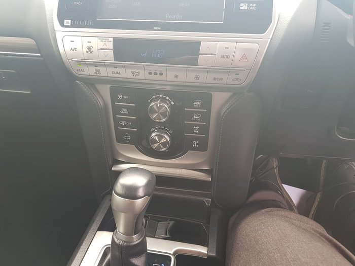2019 Toyota Landcruiser Prado Kakadu GDJ150R 4X4 Dual Range Silver