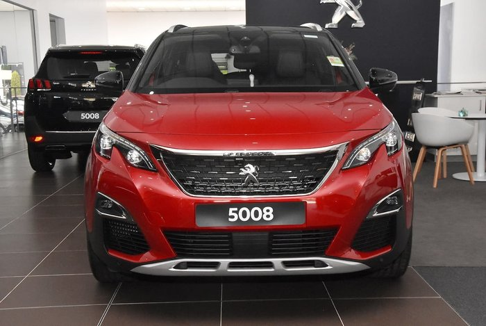 2020 Peugeot 5008 GT P87 MY20 Red