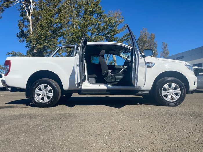2019 Ford Ranger XLT PX MkIII MY19 4X4 Dual Range White