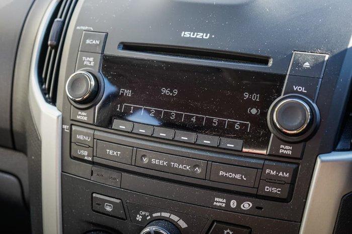 2012 Isuzu D-MAX LS-M MY12 4X4 Dual Range Bronze
