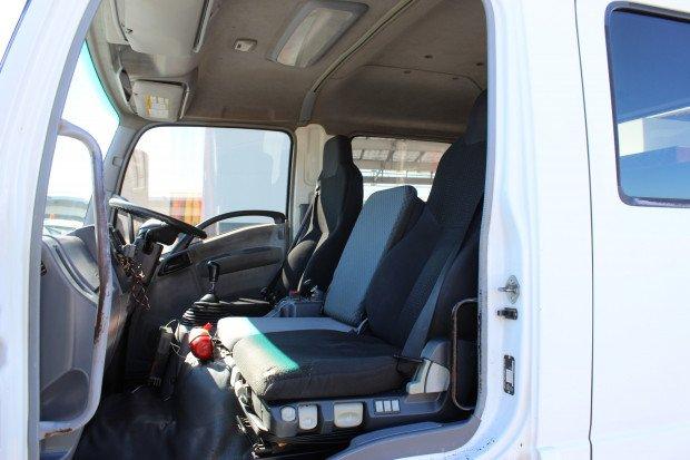 2008 Isuzu FRR600 Maxilift Crane WHITE