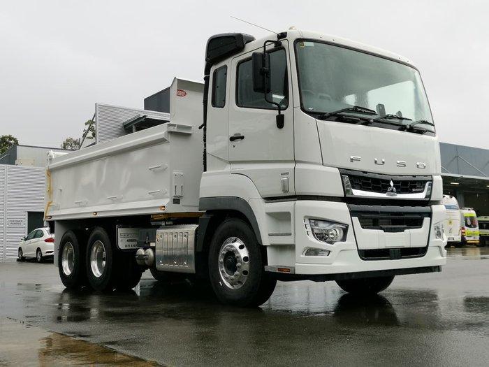 2021 FUSO FV70 White