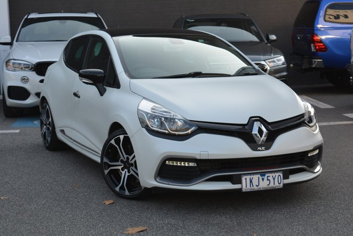 2017 Renault Clio R.S. 220 Trophy IV B98 Phase 2 Pearl White