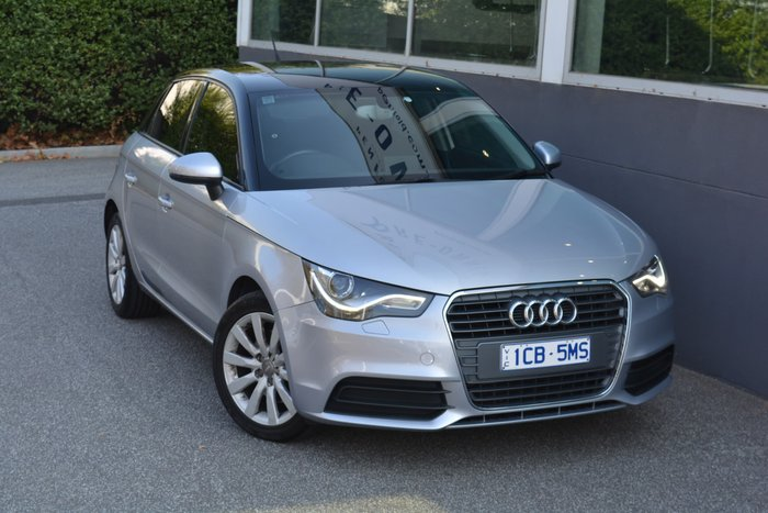 2014 Audi A1 Attraction 8X MY14 Silver